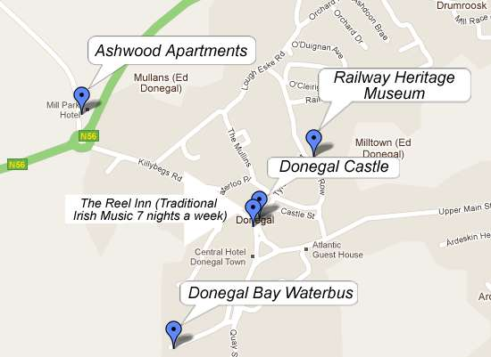 Ashwood Apartments Donegal Town  Gîte Donegal. Viscount On The Beach Hotel. Clarion Ernst Hotel. The Old Vicarage Boutique Hotel. Jiamusi River Sky Hotel. Country International Hotel. Auteuil Tour Eiffel Hotel. Casa Rural Las Nieves Hotel. Sheraton Salzburg Hotel